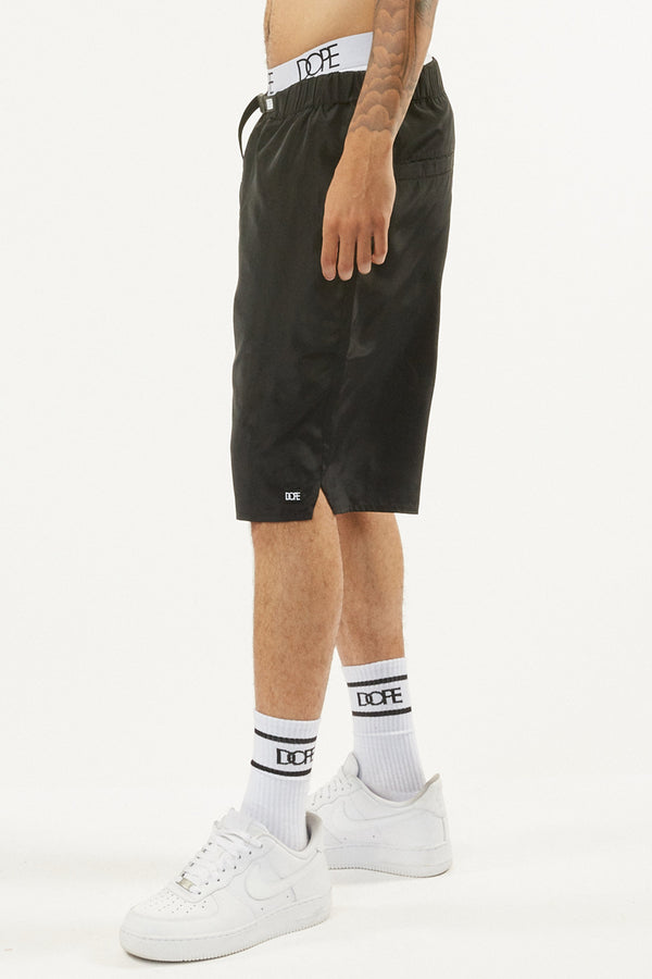DOPE Weekend Nylon Shorts #Black