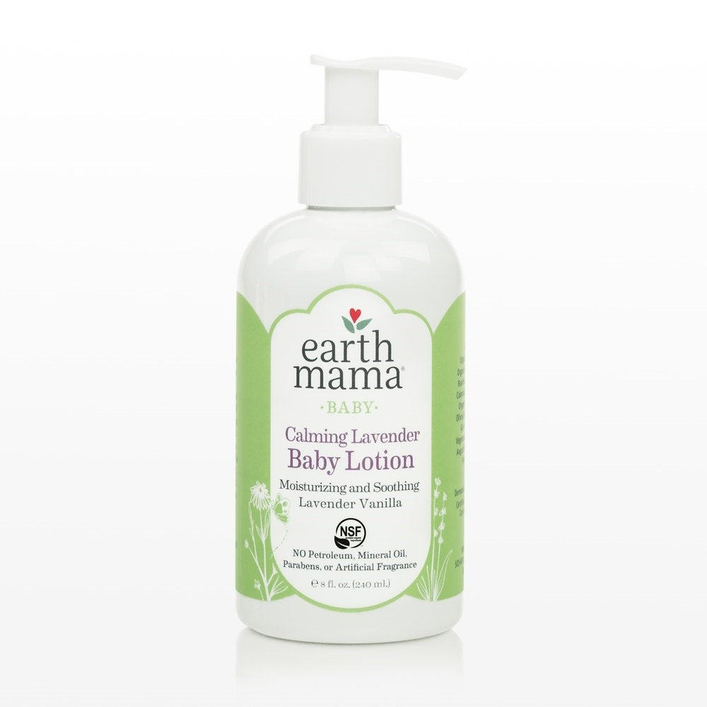 Earth Mama Organics Baby Calming Lavender Lotion (240ml)