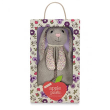 Load image into Gallery viewer, Apple Park Organic Patterned Blankie - Bunny