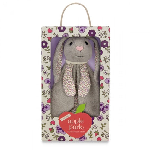 Apple Park Organic Patterned Blankie - Bunny