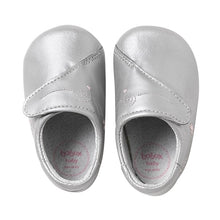 Load image into Gallery viewer, Bobux new-b baby shoe Babydoll Silver