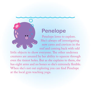 Beatrix NY Rice Fibre Bento Box - Penelope the Octopus