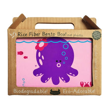 Load image into Gallery viewer, Beatrix NY Rice Fibre Bento Box - Penelope the Octopus