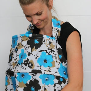 Booby Trapper Dual Rim Nursing Cover - Blue Bell