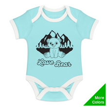 Load image into Gallery viewer, Endanzoo Organic Short Sleeve Bodysuit - Bear Adventure