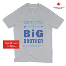 Load image into Gallery viewer, [Personalized] Promoted To Big Brother Organic Kids Tee Shirt
