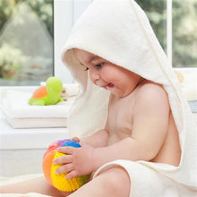 "Load image into Gallery viewer, CaaOcho Baby Natural Rubber Sensory Ball - Rainbow Large (4"")"