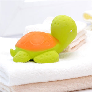 CaaOcho Baby Natural Rubber Bath Toy - Mele the Sea Turtle