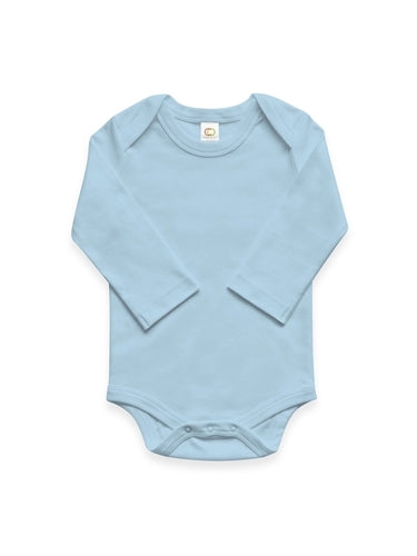Colored Organics Long Sleeve Onesie - Blue