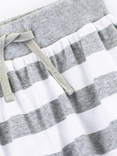Load image into Gallery viewer, Colored Organics Kenzie Pull-On Skirt (White/Heather Grey) - Size: 2T, 4T
