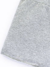 Load image into Gallery viewer, Colored Organics Raw Edge Skirt (Heather Grey) - Size 2T, 3T, 4T