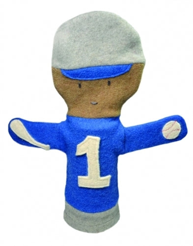 Cate and Levi Baseball Puppet