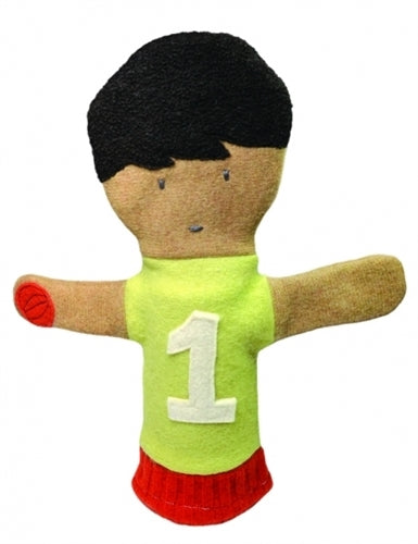 Cate and Levi Basketball Puppet