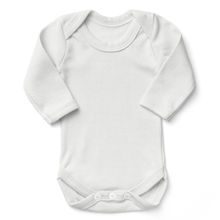 Load image into Gallery viewer, [Custom Text] Organic Baby Bodysuit Long Sleeves