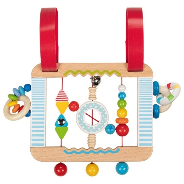 Heimess Wooden Activity Board - Confetti