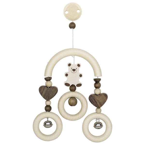 Heimess Wooden Mini Trapeze - Bear/Nature