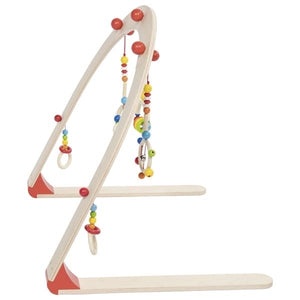 Heimess Wooden Baby Gym Rainbow