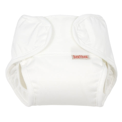 Imse Vimse All-in-One diaper (White)