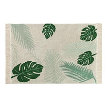 Load image into Gallery viewer, Lorena Canals Washable Kids Rug - Tropical Green
