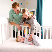 Load image into Gallery viewer, Lullaby Earth Super Lightweight Breeze Crib Mattress - White (LE16 / 2-Stage)