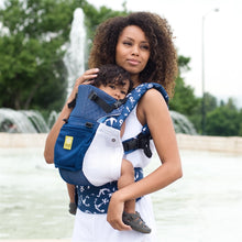 Load image into Gallery viewer, Lillebaby Complete 6-in-1 Baby Carrier – Airflow (Navy Anchor)