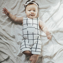 Load image into Gallery viewer, L'ovedbaby Organic Sleeveless Romper - Hopscotch