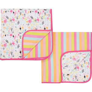 Magnificent Baby Reversible Blanket - Girl's Sweet Treat