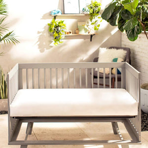 Naturepedic Lightweight Classic Organic Crib Mattress (MC34 / 2-Stage)