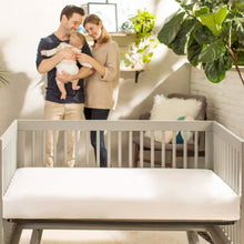 Load image into Gallery viewer, Naturepedic Lightweight Classic Organic Crib Mattress (MC34 / 2-Stage)