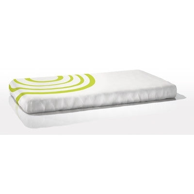 Nook Sleep Organic Ripple in Lawn Fitted Crib Sheet