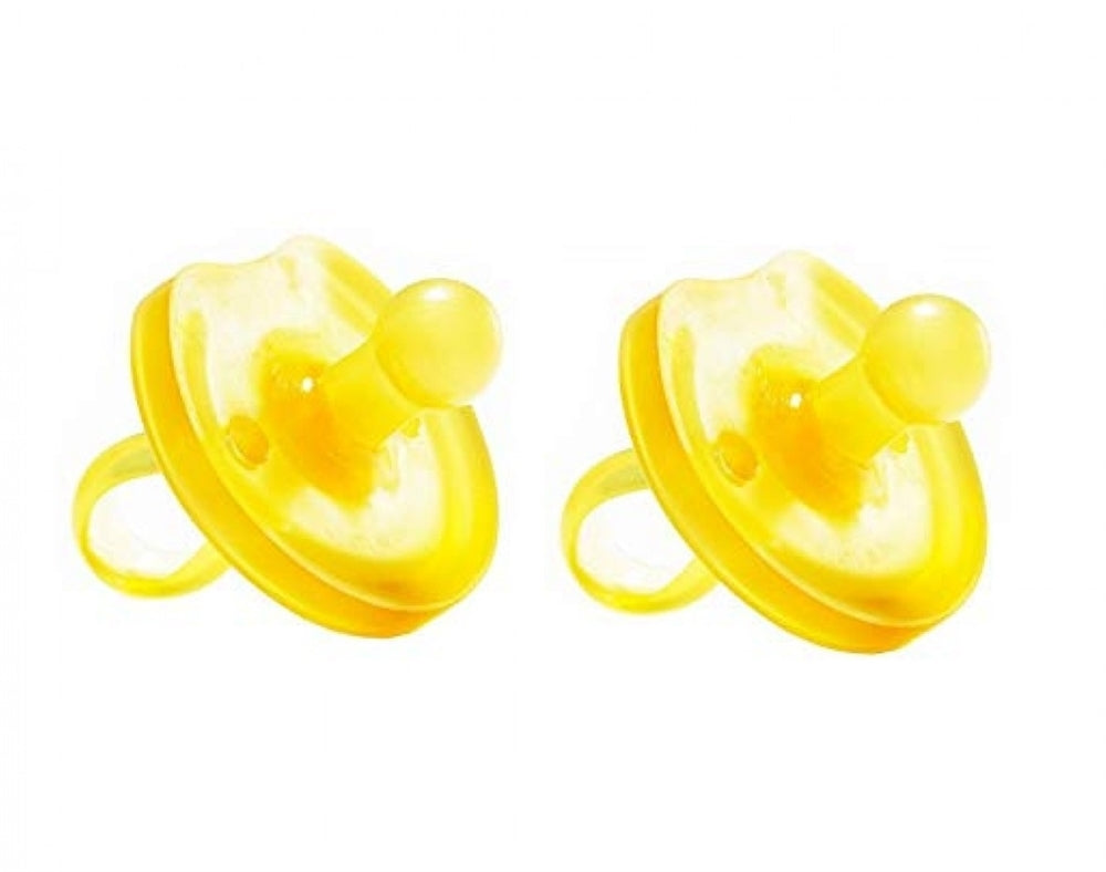 Natursutten Natural Rubber Pacifier - Butterly Round / 2-pack
