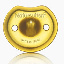 Load image into Gallery viewer, Natursutten Natural Rubber Pacifier - Butterly Round / 2-pack