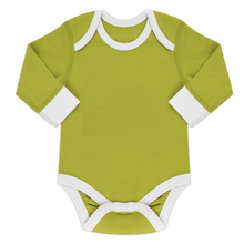 Load image into Gallery viewer, Endanzoo Organic Long Sleeve Onesie - Green