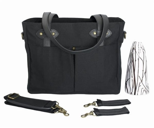 SoYoung Emerson Diaper Tote - Black