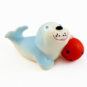 Lanco Natural Rubber Bath Toy - Seal (Hermetic Design)