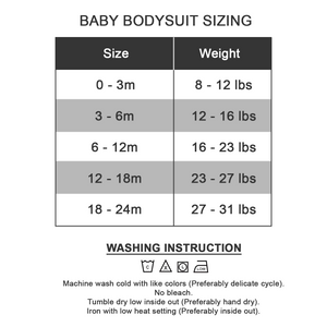 [Personalized] Straight Outta Quarantine - Organic Baby Bodysuit