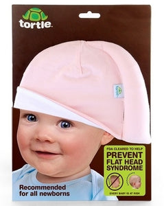 Tortle Beanie (Prevent Flat Head Syndrome) - Pink