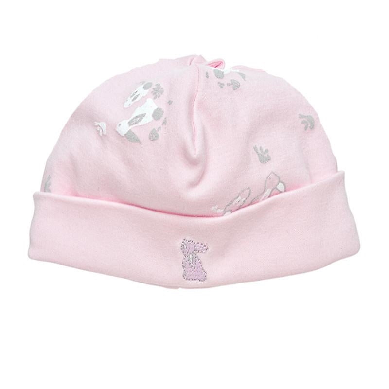 Under The Nile Organic Beanie - Pink Bunny