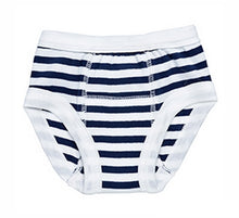 Load image into Gallery viewer, Under The Nile Organic Cotton Training Pant - Navy Stripe
