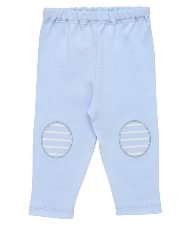 Under the Nile Organic Pull on Pant - Blue Oval