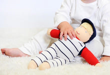 Load image into Gallery viewer, Under the Nile Organic Cotton Waldorf Dress Up Doll - Henry 13""