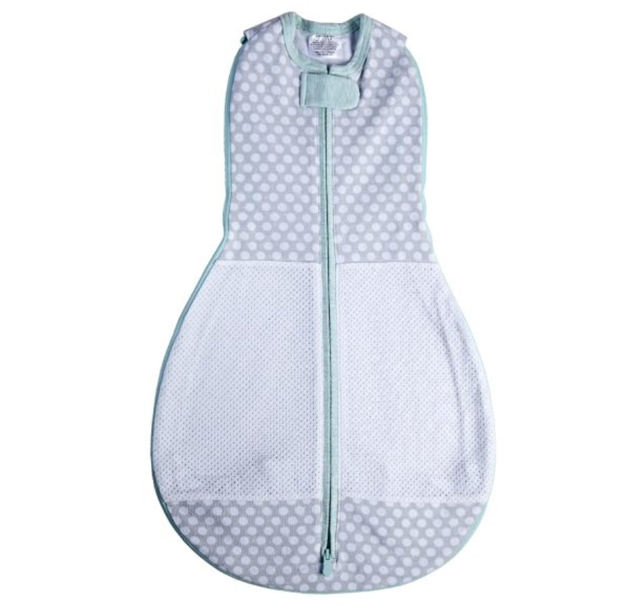 Woombie Grow with Me 5 Air convertible Swaddle - Polka Dot Party