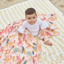 Load image into Gallery viewer, Aden Anais Silky Soft Muslin Bamboo Swaddles - Marine Gardens (3-pack)