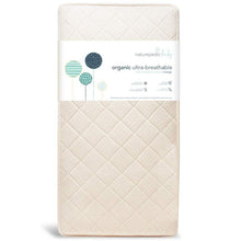 Load image into Gallery viewer, Naturepedic Ultra Breathable 252 Coil Organic Crib Mattress (MC47C / 2-Stage)