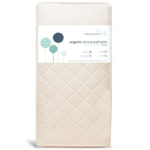 Naturepedic Ultra Breathable 252 Coil Organic Crib Mattress (MC47C / 2-Stage)