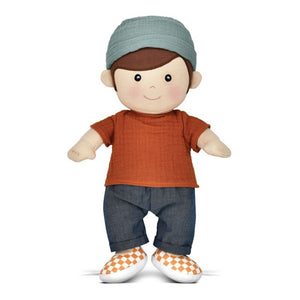 Apple Park Organic Dress Up  Doll - Park Friends Levi