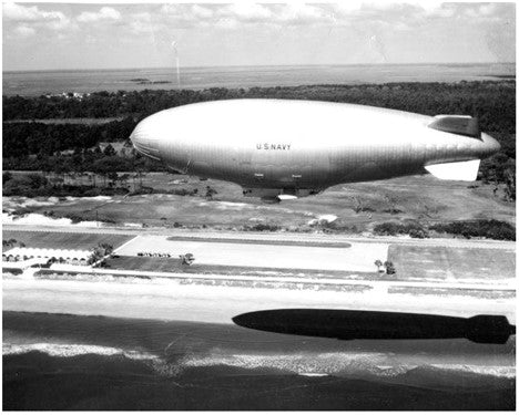 31 August 1962 - The last flight of a Navy airship was made at Naval Air Station, Lakehurst, N.J.