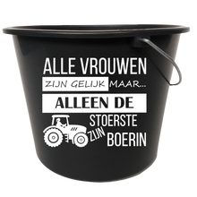 Afbeelding in Gallery-weergave laden, emmer sticker boerin | De Langstraatshop