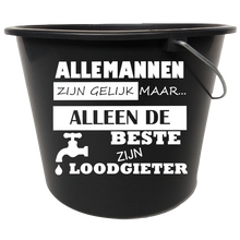 Afbeelding in Gallery-weergave laden, emmer sticker loodgieter | De Langstraatshop