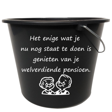 emmer sticker pensioen | De Langstraatshop